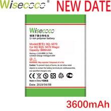 Wisecoco BQS5070 2PCS 3600mAh Newly Produced Battery For BQ BQS 5070 BQS-5070 Nous NS 5004 Magic Phone Replace