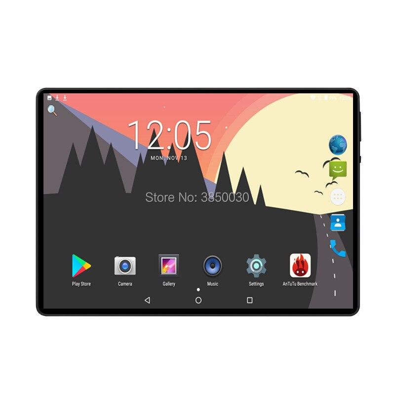 2019 novo google play android 9.0 os 10 polegada tablet octa núcleo 6 gb ram 128 gb rom 1280*800 ips crianças comprimidos 10 10.1