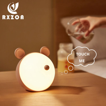 Creative Atmosphere Night Light Bedroom Bedside Rechargeable Baby Feeding With Sleeping Table Lamp For Children Kids Night Light gx diffuser creative sleeping night lamp decoration table lamp warm light for bedroom