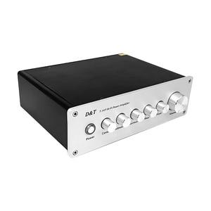 Image 1 - 7.1 Channel Power Amplifier 8x20W 8 ช่องเครื่องขยายเสียงดิจิตอลซับวูฟเฟอร์ Amplificador de AUDIO AMP สำหรับ DIY home Sound Theater