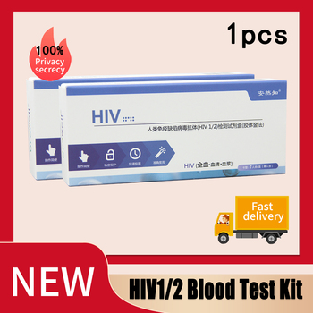 Zestaw badań krwi HIV1 2 zestawy do testowania AIDS HIV (99 9 dokładne) Test całej krwi surowicy plazmy prywatność szybka wysyłka tanie i dobre opinie CN (pochodzenie) Nie posiada Lustro do makijażu