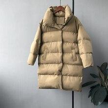 RICORIT Thick Parkas Jackets Women New Cotton Padded Warm Puffer Jacket