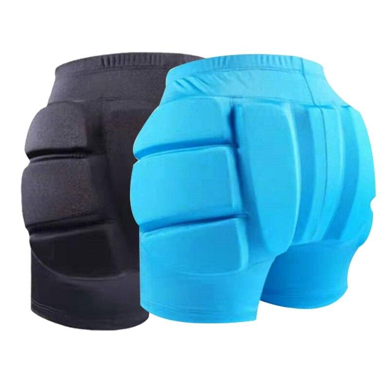 Children Ski Hip Pad Protector Anti-fall Men Women Outdoor Sports Skiing Shorts Hip Pad Protector Armor Skating Skiing Hip Pad