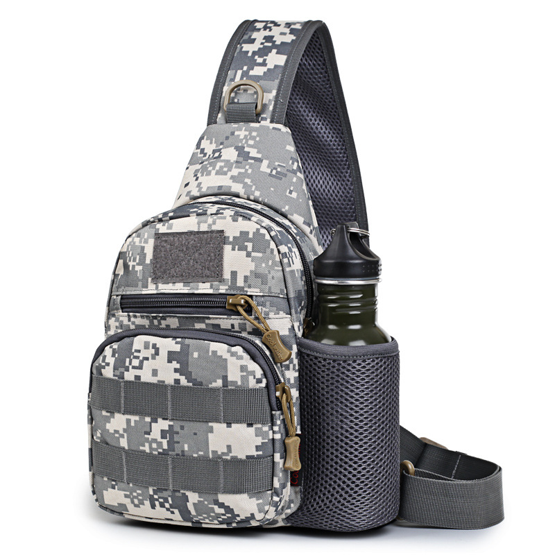 Bone Frog Produced Mini Small Chest Bag Riding Shui Hu Bao Over-the-shoulder Bag Small Accessory Kit Outdoor Casual