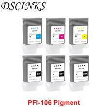 Pfi 106 водонепроницаемый пигментный совместимый чернильный