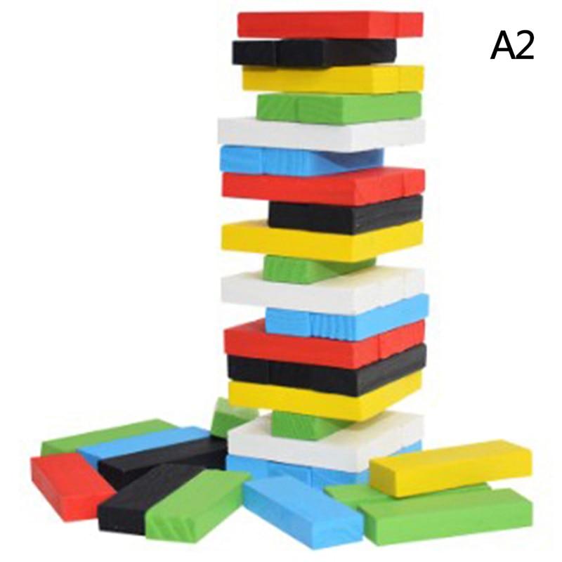 Игра-головоломка, игрушка, креативный Новый Деревянный цифровой строительный блок Дженга, модная детская игрушка, развлечения, интеллектуа...