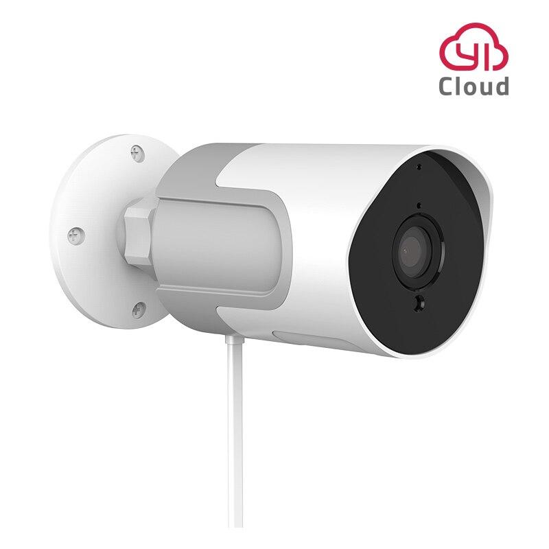 Yi lot ao ar livre câmera ip hd completo 1080p cartão sd câmera de vigilância segurança à prova de intempéries visão noturna yi nuvem