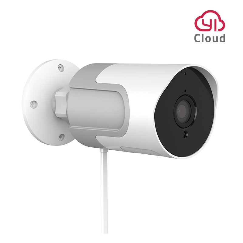 YI LoT Outdoor IP Camera Full HD 1080p SD Card Security Surveillance Camera Weatherproof Night Vision YI Cloud