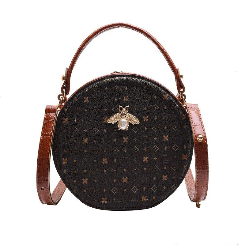WOMEN'S Bag New Style 2019 Shoulder Bag High Grade Sense Bag Women's Small Round Bag Korean-style Versatile Fashion One-Shoulder
