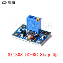 Convertisseur de Module d'alimentation réglable cc à cc 10 pièces SX1308 régulateur de tension DC-DC
