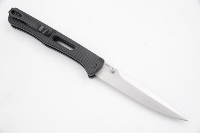 JUFULE Made 417 nylon fibre handle Mark S30v Blade folding Pocket Survival EDC Tool camping hunt Utility outdoor kitchen knife 5
