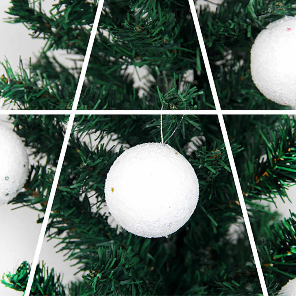 Christmas Ball christmas tree ornaments Decoration 6cm Bubble Star Christmas Ball Pendant 6 Pack kerstballen bombki choinkowe