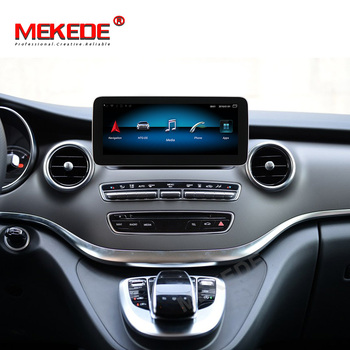 "MEKEDE HD New! 4GB RAM 10.25"" IPS screen Android 9.0 Car dvd player for Mercedes Benz W446 V Class 639 C GLC class 2014-2018"