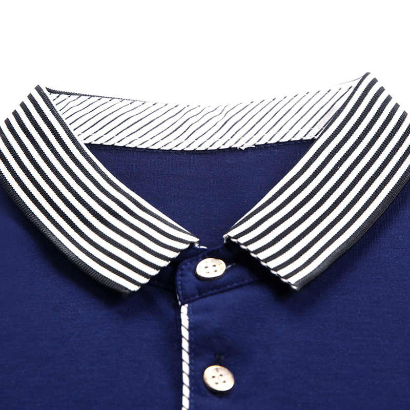MIACAWOR Neue 2020 Sommer Männer Polo shirts Business Casual T shirt Homme Solide Slim Fit kurzarm Polo Camisa t820