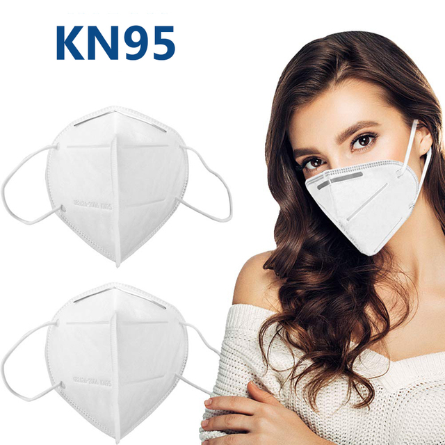 5/10PCS N95 Mask CE Non-woven Anti Flu AntiInfection Masks Particulate Respirator PM2.5 Same Protective as KF94 FFP2 FFP3 4