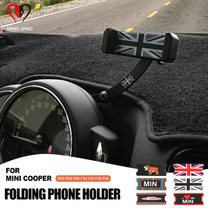 Image 1 - Auto Smartphone Cell Phone Holder Rotatable Clip Fold Mount Holder For mini cooper F55 F56 F54 R55 R6 R60 Countryman Clubman