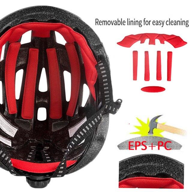 Batfox novo capacete de segurança das crianças ciclismo patinação capacete ultraleve protetor capacete da bicicleta esportes ao ar livre engrenagem protetora 5