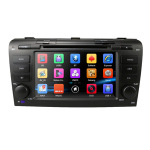 Image 3 - Remote control Car DVD player for Mazda 3 2004 2009 USB SD Bluetooth Steering Wheel Control Multimedia System DAB Free map card