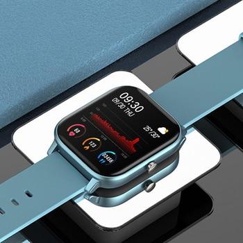 IP67 P8 Smart Watch Wristband Men Women Sport Clock Heart Rate Monitor Sleep Monitor Smartwatch tracker for phone Color Screen