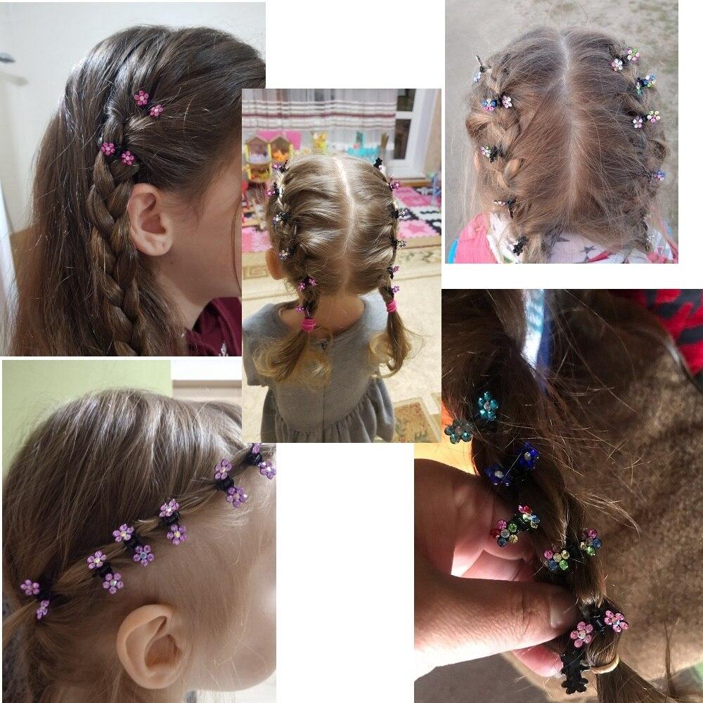 Мини-стразы для волос ncmama 12 шт./компл 2