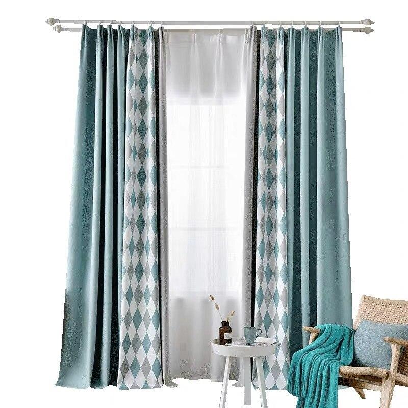 Cortina de ventana de Color puro, cortinas de sombreado de lino y algodón grueso para sala de estar, dormitorio, cortinas de lujo, Courtain NEO Coolcam Smart Home Z Wave Plus, interruptor inteligente de cortina para cortina eléctrica motorizada, persiana enrollable