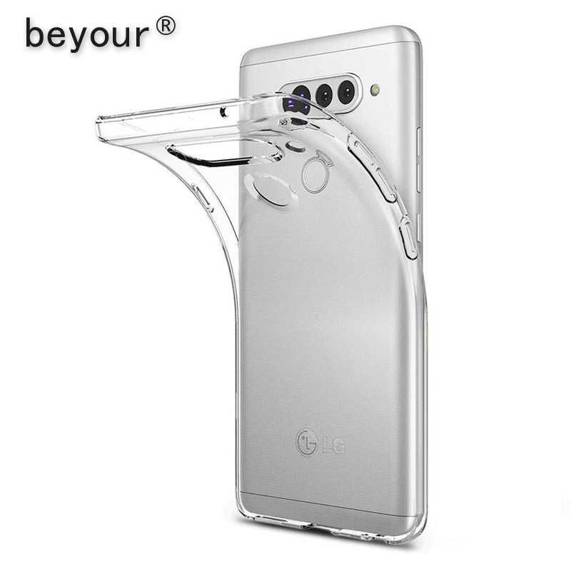 Voor Lg G6 G7 Case Transparante Tpu Cover Voor Lg G5 G4 Stylus G3 Mini G8 G8s K4 K8 2018 K11 K10 2017 K50 K40 Clear Phone Case