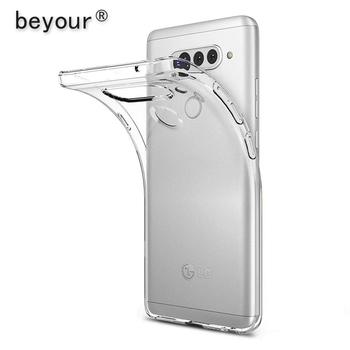 Dla LG G6 G7 G8 przypadku przezroczyste etui plecki z TPU dla LG G5 G8X G8S K62 K52 K42 K50S K50 K40 K30 K20 K11 K10 2019 przezroczysty futerał na telefon tanie i dobre opinie beyour CN (pochodzenie) coque funda fundas capa luxury accessories Mobile phone cases silicone for lg g6 case for lg g7