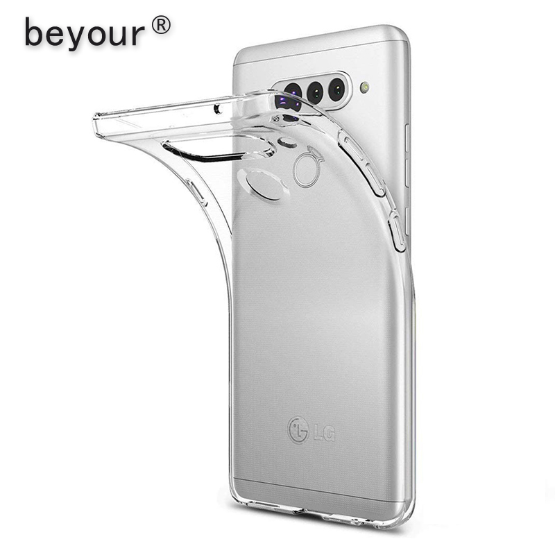 For LG G6 G7 Case Transparent TPU Back Cover For LG G5 G4 Stylus G3 Mini G8 G8s K4 K8 2018 K11 K10 2017 K50 K40 Clear Phone Case
