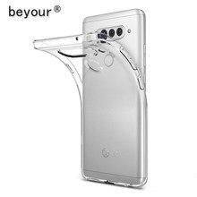 Para LG G6 G7 G8 Caso Transparente TPU Tampa Traseira Para LG G5 G8X G8S K62 K52 K42 K50S K50 K40 K30 K20 K11 K10 2019 Claro Caso de Telefone