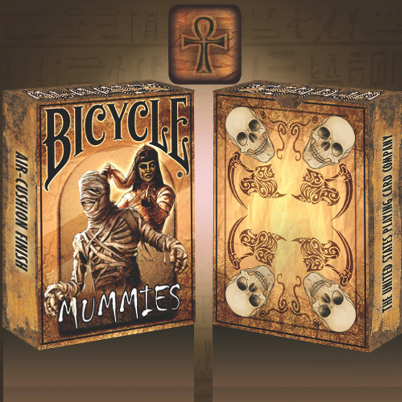 Bicycle Mummies Playing Cards Mummy Poker USPCC Limited Edition Deck Magic Cards Magic Tricks Props For Magician Toy Gifts