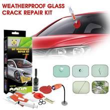 Kit de réparation de pare-brise de voiture, résine craquelée, rayures, outils liquides de réparation de vitres de voiture, restauration des fissures, accessoires d'entretien TSLM1