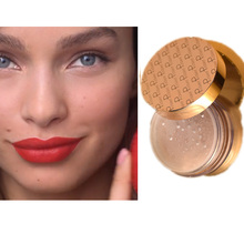 Small Gold Tube Set Matte Lipstick Concealer Loose Powder Mineral High Gloss Repair Capacity Durable Waterproof