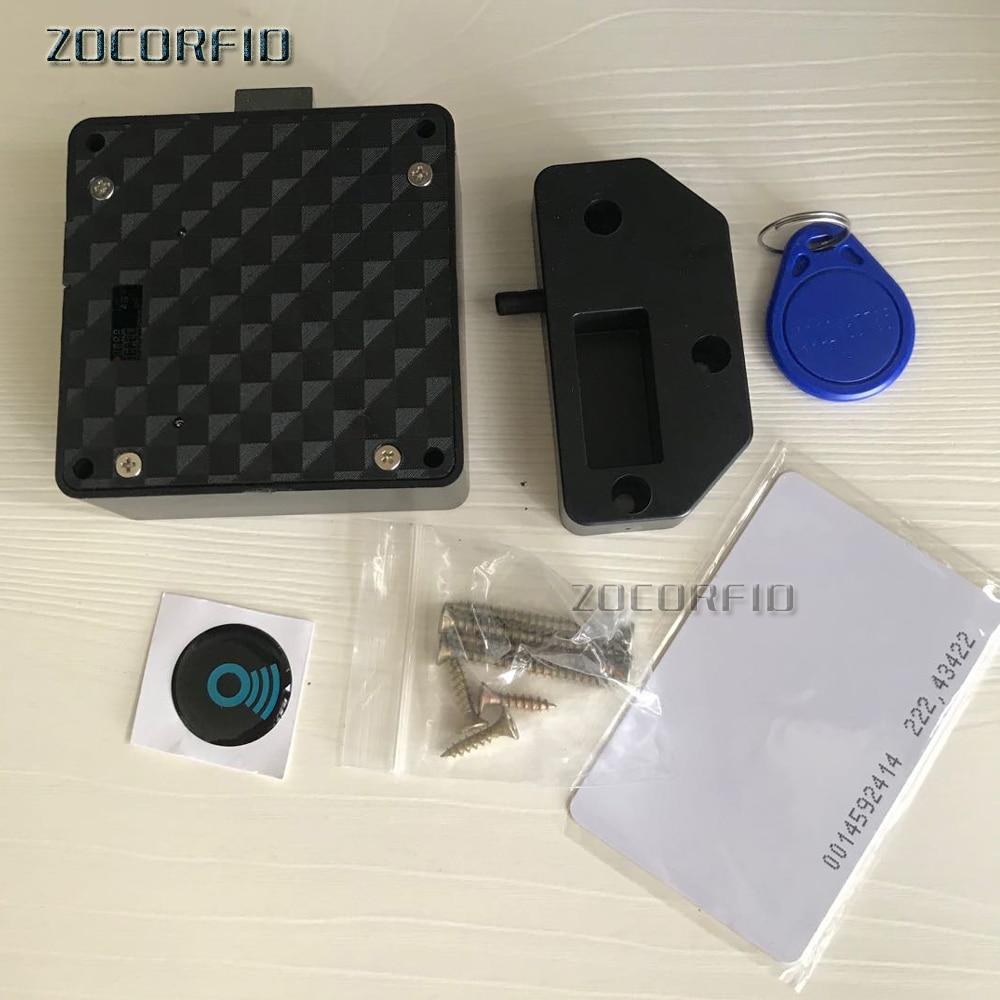 Smart Electronic Hidden EM RFID Cabinet Lock No Hole Easy Installation Furniture Locker Wardrobe Shoe Cabinet Drawer Door Lock|Electric Lock| - AliExpress
