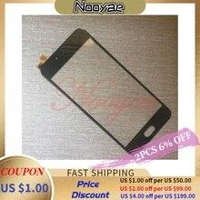 Nero di Vetro Sensore per Bq BQ 5203 5203 BQ5203 Bqs 5203 BQS5203 Vision Touch Screen Digitizer Touchscreen Del Pannello di Shipping + Tracking