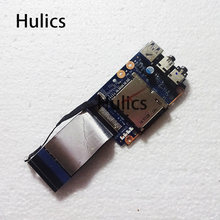 Hulics оригинал для Lenovo Y580 USB аудио плата с кабелем QIWY3 LS-8003P QIWY3 USB 3,0