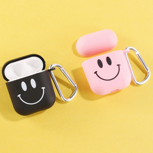 Smile Face Lover Vibes Earphone Case For Apple iPhone Charging Box For AirPods P