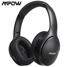 Mpow H19 Ipo Draadloze Bluetooth Hoofdtelefoon Verbeterde Cvc 8.0 Noise Cancelling Headset Met Bt 5.0 & 30H Speeltijd Voor smartphone