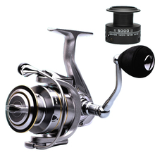 High Quality 14+1 BB Double Spool Fishing Reel 5.5:1 Gear Ratio High Speed Spinning Reel Carp Fishing Reels For Saltwater ice fishing reels ball bearings high quality reels mini fishing carp fishing reel spool fishing tackle gear