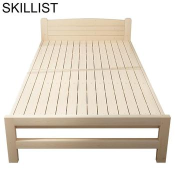 цена Frame Recamaras Single Yatak Odasi Mobilya Literas Kids Mobili Cama Moderna bedroom Furniture Mueble De Dormitorio Folding Bed онлайн в 2017 году