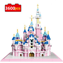 6300pcs Princess Dream Girls Castle Building Blocks Bricks Toys Girl Compatible with Lepining Friend for Christmas Toys Gifts