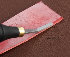 High-quality leather surface sanding rough leather tool, sun pattern 3/4mm wide