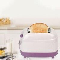 Тостер с 2 ломтиками  Автоматический быстрый нагрев  тостер для хлеба  бытовой  для завтрака  европейская вилка