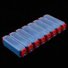 Boîte de rangement de pêche à Double face avec des compartiments séparés imperméables