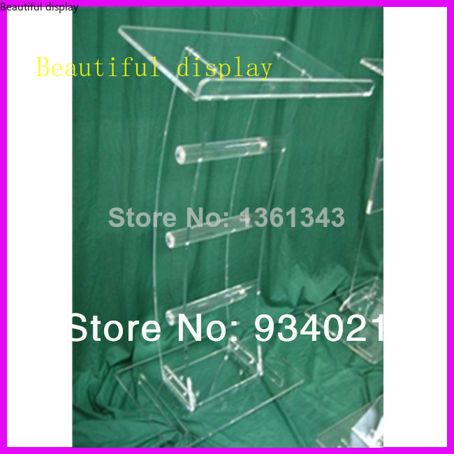 Hot SellingAcrylic Tabletop Lectern/Plexiglass Podiums