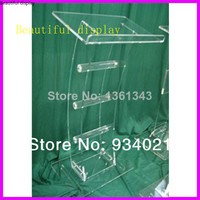 Hot sellingAcrylic Tabletop Lectern/Plexiglass Podiums