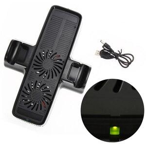 Image 4 - Ventilador de refrigeração com suporte de doca dupla para o controlador de jogo xbox 360