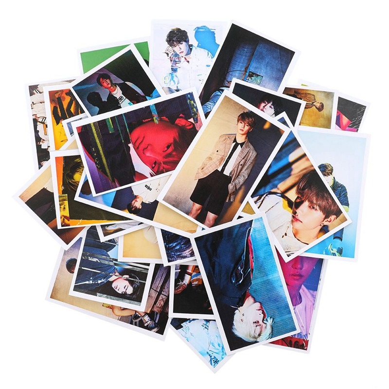 30pcs/set New K-POP STRAY KIDS Lomo Cards Self Made Paper Photo Cards For Fans Collection Gift