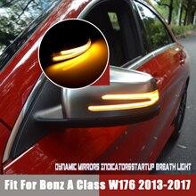 Dành Cho Xe Mercedes Benz W176 W246 W212 W204 C117 X156 X204 W221 Cuộn Mặt Gương Chiếu Hậu Năng Động Nhan Nhấp Nháy đèn Blinker