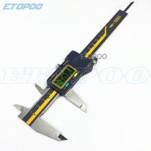 Pied à coulisse micromètre électronique étanche IP54, 0 150mm 6 pouces 200mm 300mm 0.005mm TERMA ABS origine numérique