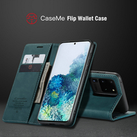 Custodia in pelle di lusso per Samsung Galaxy A52 A51 A71 nota 20 custodia a portafoglio Ultra magnetica S20 S21 S10 S9 S8 Plus custodia per telefono S7 Card